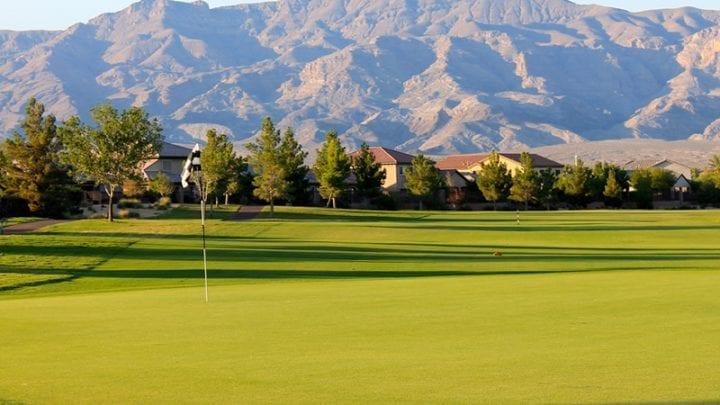 Aliante Golf Club - Hole 3 Green