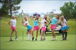 Bachelor Party Female Caddies