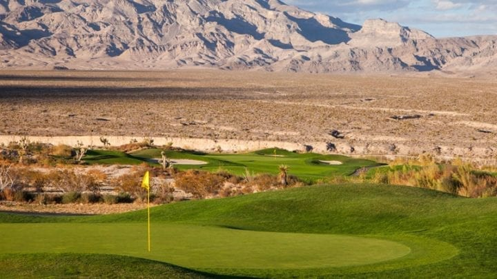 Las Vegas Paiute Golf Club Snow Mountain Course 10