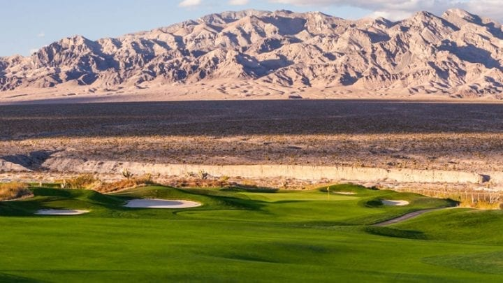 Las Vegas Paiute Golf Club Snow Mountain Course 12