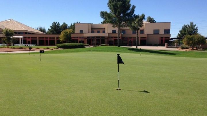Stallion Mountain Golf Course 12