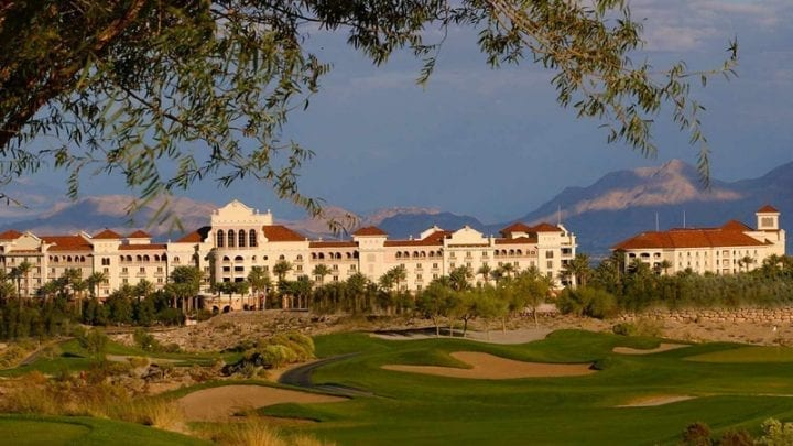 TPC Las Vegas Golf Course 6