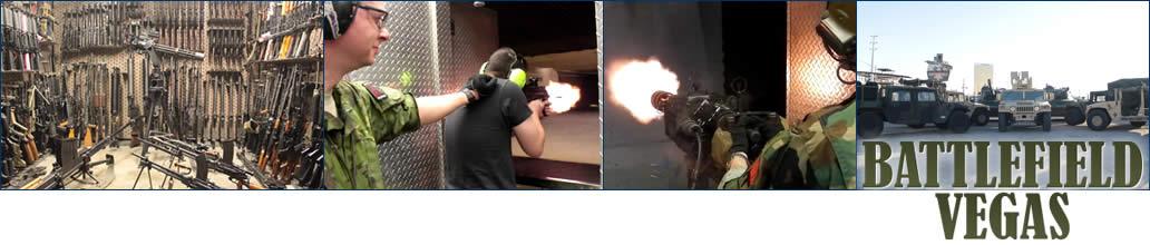 Machine Gun Experience Battlefield Las Vegas
